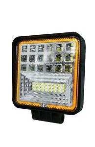 Amber Angel Eyes - 60w Reflector Square 9-36Volt -  Fog Led-site / plant safety