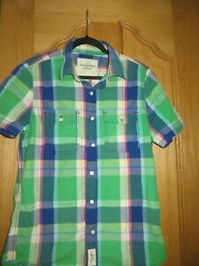 MENS SIZE L SHIRT BY ABERCROMBIE & FITCH - EX CON