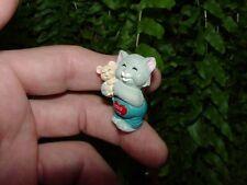 1993 HUGS and KISSES CAT #3 - Hallmark Merry Miniature