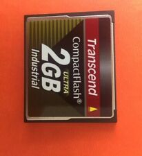 50 X 2gb Transcend compact flash Card - Industrial Grade CF Cards