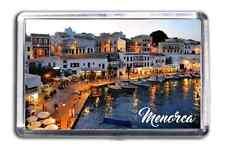 Menorca Fridge Magnet Collectable Design Souvenir Baleric Island Destination