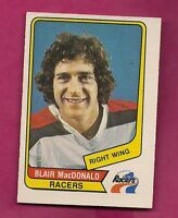 RARE 1976-77 OPC WHA # 93 RACERS BLAIR MACDONALD ROOKIE NRMT CARD (INV# 7920)
