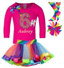 Bubblegum Divas Unicorn Shirt Girls 6th Birthday Rainbow Party Personalized Gift