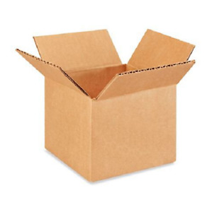 200 5x4x4 Cardboard Paper Boxes Mailing Packing Shipping Box Corrugated Carton