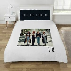 Little Mix LM5 Double Duvet Cover Set Girl Band Photographic Image 2 in 1 Design