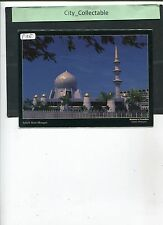 P155 # MALAYSIA USED PICTURE POST CARD * SABAH STATE MOSQUE, KK