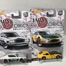 hot wheels japan historics 1 Nissan Skyline 2000GT-R & Toyota 2000 GT