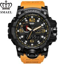 SMAEL Waterproof Sports Military Shock Men's Analog Quartz Digital Watch UK