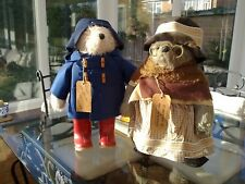 Vintage Gabrielle Paddington Bear and Aunt Lucy in excellent condition