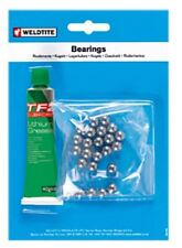 Weldtite 3/16 Ball Bearings Top Quality And White Lithium Grease 36 Balls 3/16""