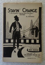 Jazz band arrangement Stavin' Change Meanest Man New Orleans 1923 Al Bernard