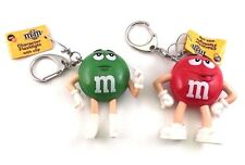 American Chocolate 3D LED Light Torch Keychain  Mini Flashlight M&M's Characters