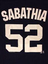 C.C. Sabathia #52 t-shirt jersey New York Yankees MLB Genuine Merchandise men L