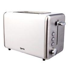 Igenix IG3000W Two Slice Toaster with Deep Slots, White