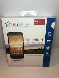"moto e5 play U.S. Cellular READY CONNECT PLANS *ONLY* 5"" HD 16gb I 3GB Ram 8MP"