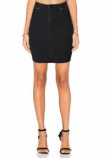 Regular Size Solid Mini Straight, Pencil Skirts for Women