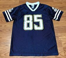 NFL Chargers Jersey   85 Gates Size XL (16-18) Youth Navy Blue 6a399bcdf