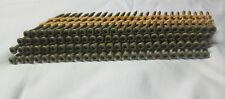 """Ballistic Nail Screws 2 1/4"""" x .113 plastic strip T-15 Torx Trim Head Tan Color"""
