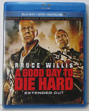A Good Day to Die Hard Extended Cut Blu-ray / DVD 2-Disc Set, no digital copy
