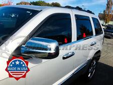 fits 2005-2010 Jeep Grand Cherokee Laredo 4Pc Window Sill Trim Stainless Steel
