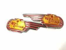 Royal Enfield Tankembleme Royal mit gun (N-907)