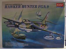 Academy 2169 1/48 Escala Modelo Hawker Hunter FGA.9 Kit de Sellado de contenido