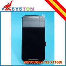 PANTALLA COMPLETA MOTOROLA MOTO G2 XT1068 (LCD+TACTIL+MARCO) NEGRA