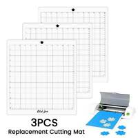 3Pcs 12 Inch Replacement Cutting Mat Adhesive Mat Measuring for Silhouette Cameo