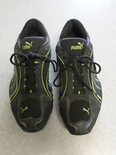 PUMA black and green running shoes Men's 8 (eur 40.5)