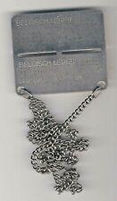 belgique plaque d'identité militaire matricule R/93031