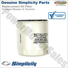 Genuine Simplicity Replacement Oil Filter for Lawn Mowers & Tractors / 1719168YP