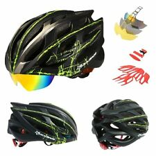 Casco Bicicleta con gafas RockBros Triathlon btt carretera contrareloj
