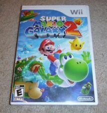 Super Mario Galaxy 2 1st Print Nintendo Wii **BRAND NEW FACTORY SEALED**