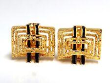 18kt Inlay Enamel Elite cufflinks