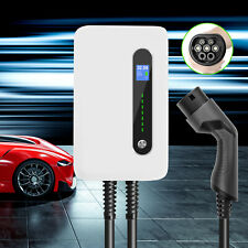 EV Charging station 32Amp Type2 EVSE WALLBOX 7.6M CABLE Home Charger for PHEV