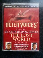 Alien Voices Conan Doyle's The Lost World Audio book Cassette Tape Leonard Nimoy