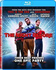 THE NIGHT BEFORE (2016 Seth Rogen) Blu Ray - Sealed Region free for UK