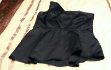 L@@K NEXT NWT SIZE 20 NAVY ONE  SHOULDER PARTY OCCASION DRESSY TOP £48