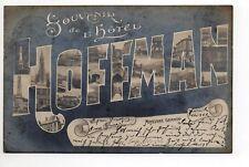 MOYEUVRE GRANDE Gross Moyeuvre Moselle CPA 57 souvenir de l'hotel HOFFMAN