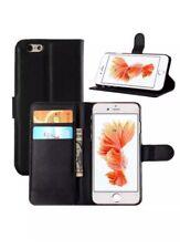 Libro De Cuero Con Premium Billetera De pie Estuche Cubierta para iPhone 6 6s