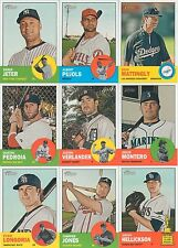 2012 Topps Heritage Baseball Mint MASTER Set 545 Cards with Shortprints Inserts