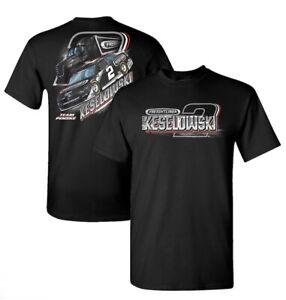 "2021 #2 Brad Keselowski ""Freightliner"" 2 Spot T Shirt - Size XL"