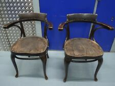A pair of Thonet bentwood chairs