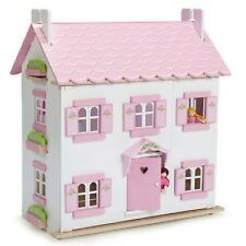 SOPHIES DOLLS HOUSE BY LE TOY VAN TRADITIONAL WOODEN HOUSE DECS INSIDE & OUT