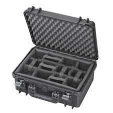 Fotokoffer Kamerakoffer + Fachteilung Outdoor Case 414x345x174, wasserdicht IP67