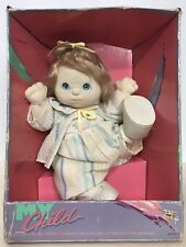 1985 Mattel My Child Doll New In Box Blonde Blue Eyes