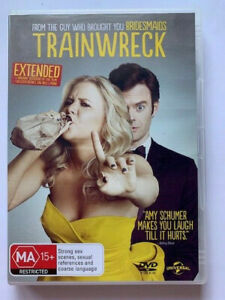 Trainwreck, 2015, Comedy, Romance, Rated MA, Region 2/4, VGC, Free Post