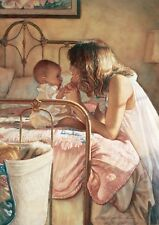 Steve Hanks Mother and Child Bond  S/N lithograph