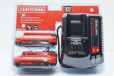 CRAFTSMAN V20 Battery & Charger Starter Kit, 2.0 Ah (CMCB202-2CK) - BRAND NEW!