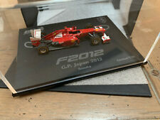 BBR 1/43 limited #07/10 Ferrari F2012 ALONSO JAPAN GP 2012 large base